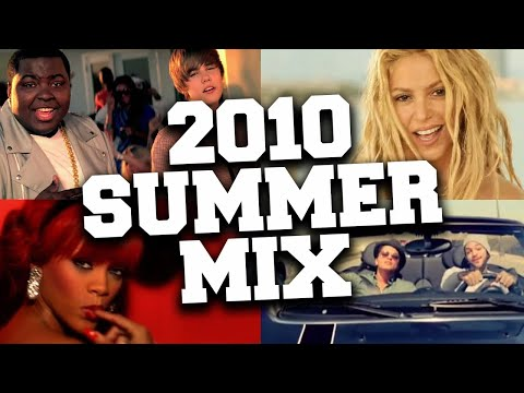 Songs That Take You Back To Summer 2010 😎 2010 Summer Nostalgia Mix