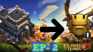 TOWN HALL 9 TO TITAN LEAGUE | EPISODE 2 | CLASH OF CLANS | LIVE STREAM  | ROAD TO 400 SUBSCRIBERS