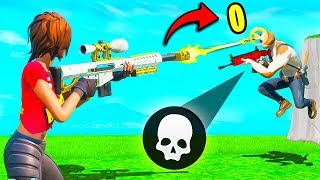 *0 DAMAGE* WITH A SNIPER!! - Fortnite Funny Fails and WTF Moments! #845