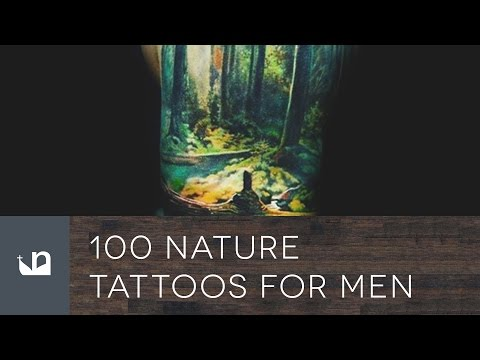 100 Nature Tattoos For Men
