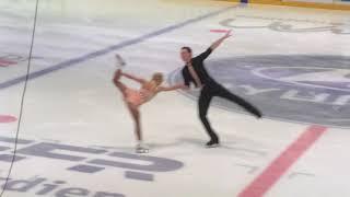 Aljona Savchenko / Bruno Massot / short dance / Deutsche Meisterschaften im Eiskunstlauf 2018