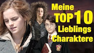 Meine TOP 10 Lieblings HARRY POTTER Charaktere ⚡ thumbnail