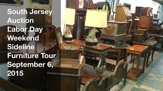 September 6, 2015 - Labor Day Weekend Sideline Furniture Tour - South Jersey Auction
