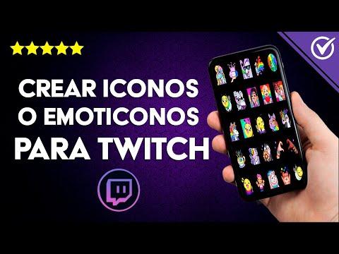 Cómo Hacer o Crear Iconos y Emoticonos para Twitch - Guía Completa