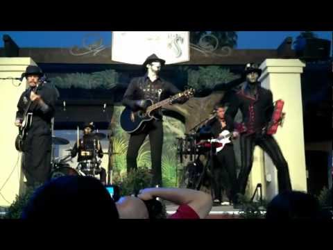 "Steam Powered Giraffe - ""Automatonic Electronic Harmonics"" (Live)"