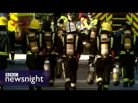 Bbc breaking news london fire
