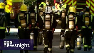 Grenfell firefighter: 'I just felt broken' - BBC Newsnight