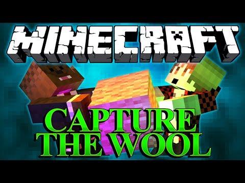 SAVING MITCH'S LIFE Minecraft Capture The Wool Mod w/ BajanCanadian