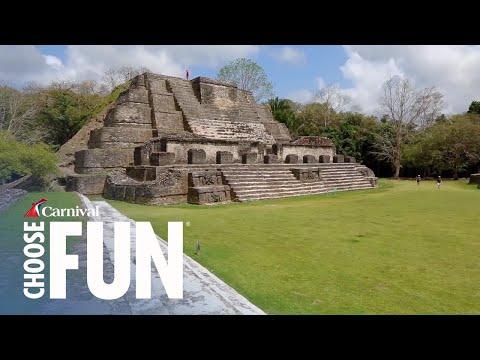 Altun Ha & Belize City Tour, Belize (with audio description)