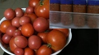The easiest way to freeze tomatoes for long term storage.