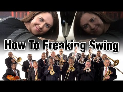 Jazz Lesson: How To FREAKING SWING
