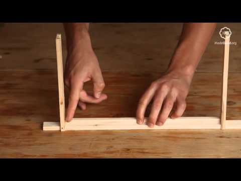 Beekeeping - Constructing A Frame For A Beehive