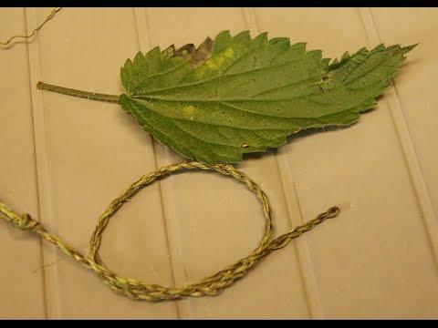 Ficelle naturelle en fibres d'orties