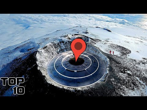 Top 10 SECRET Google Maps Locations You're NOT Supposed to See