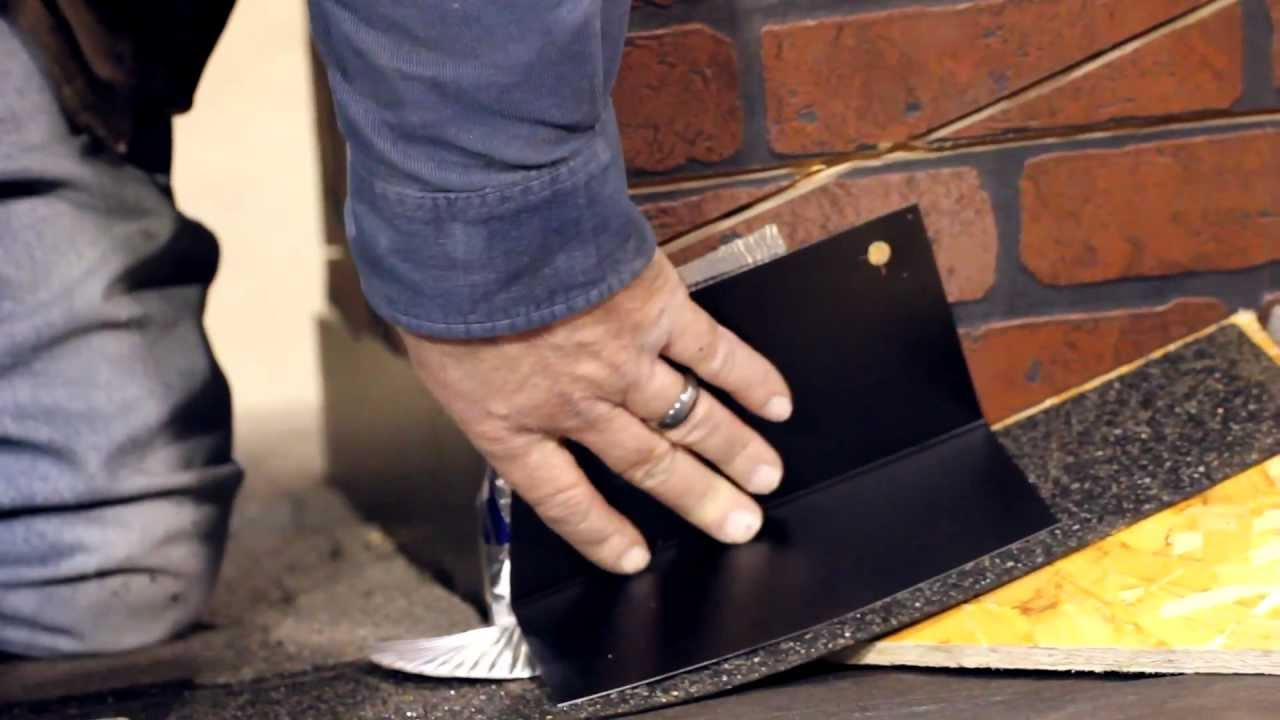 Roof Flashing With Mark Sauder Part I Base Flashing