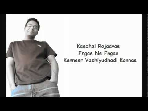 Kaadhal Rojaave - Tamil Karaoke - Roja - By BiSTRO - YouTube.flv