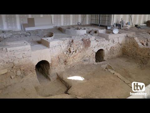 VÍDEO: Las obras de musealización de los alfares romanos de Lucena concluirán en febrero. Te contamos como será el centro