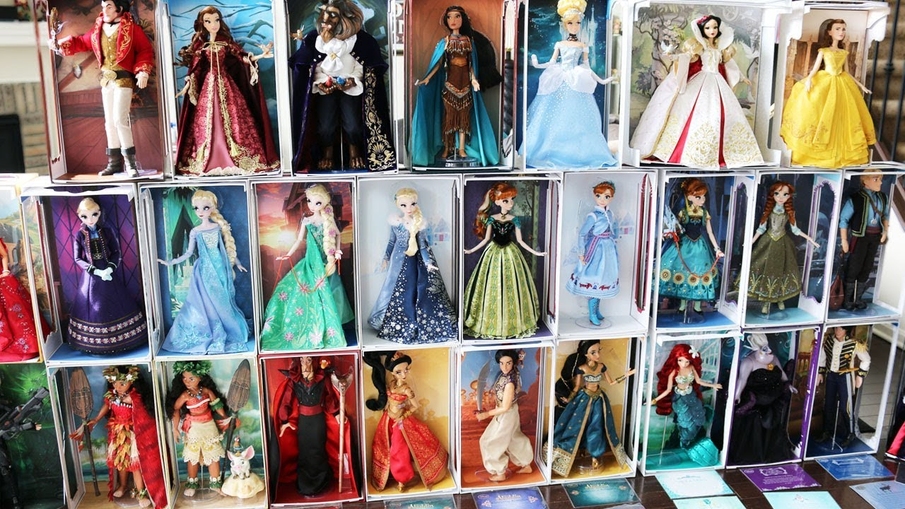 Disney Limited Edition Dolls Collection Tour - All 37 of ...