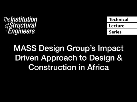 MASS Design Group's Impact Driven Approach to Design & Construction in Africa