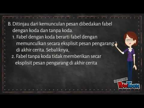 Teks Cerita Fabel Youtube