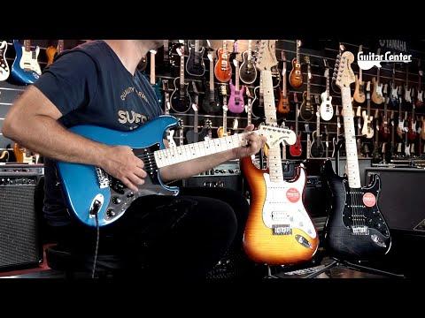 Squier Affinity Stratocaster MN LPB   Guitar Center PL