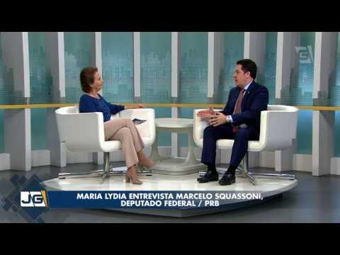 Maria Lydia entrevista Marcelo Squassoni, deputado federal/PRB