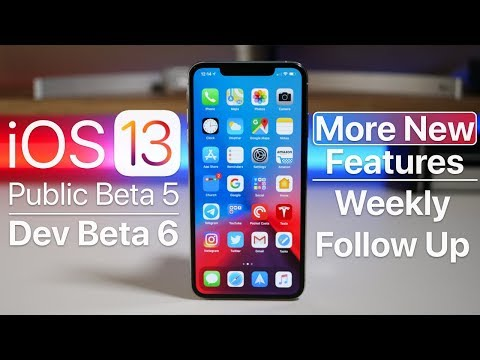 iOS 13 Public Beta 5 and Dev Beta 6 - More features and Follow Up