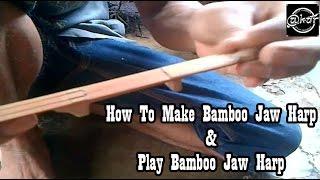 Jaw Harp Music   How To Make and Play Bamboo Jew's Harp