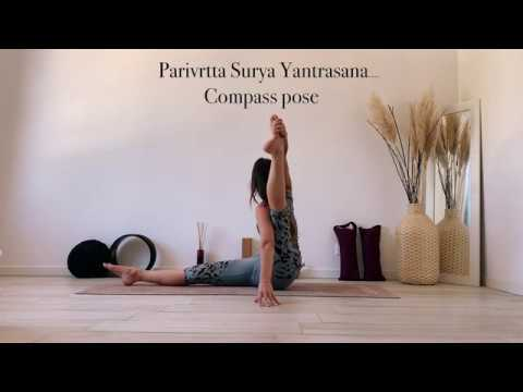 HOW TO: Compass Pose | Parivrtta Surya Yantrasana