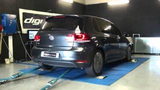 Reprogrammation moteur VW golf 6 tdi 170CV @ 203cv dyno digiservices