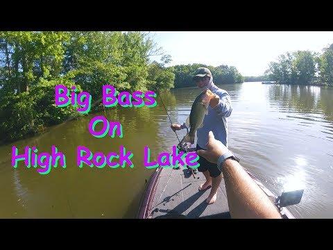 Big Bass On High Rock Lake