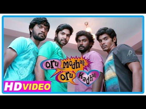 Oru Modhal Oru Kadhal Movie | Scenes | Kadhal Devathai Song | Vivek Dates His Girlfriend