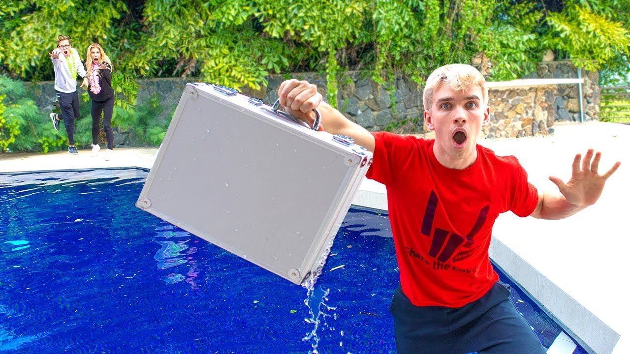 Download Game Master Mystery Detective Briefcase FOUND in Backyard Pool! (Rebecca Zamolo Reveals New Clues)