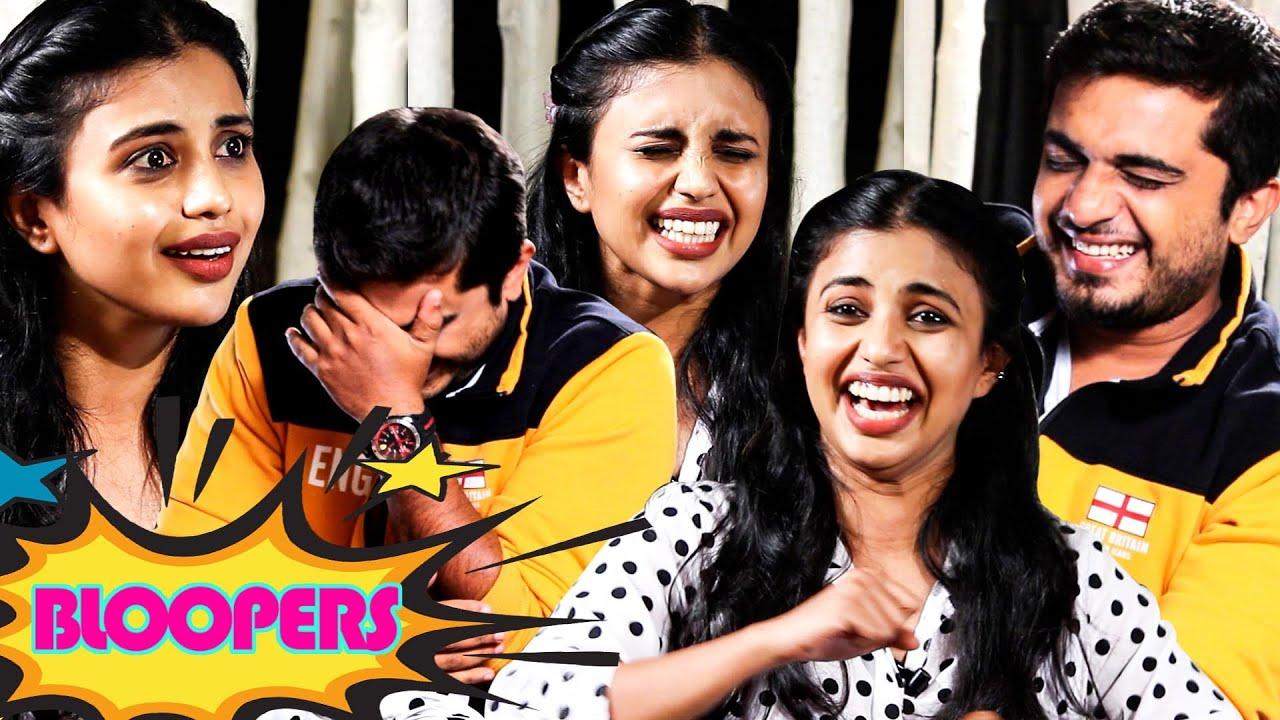 🔴Bloopers🔴| നന്ദി നന്ദി🙏... നീ പോടാ പന്നി... 😂😂😂 | Nandini Sree | Dine With Love