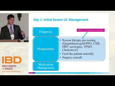 Management Of Acute Severe Ulcerative Colitis