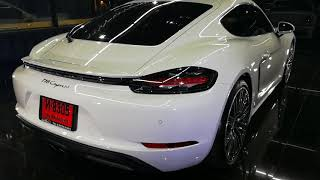 Review เคลือบแก้ว เมก้าเซรามิค Porsche 718 cayman - Mega Ceramic ถามราคาได้ คลองหลวง ปทุมธานี