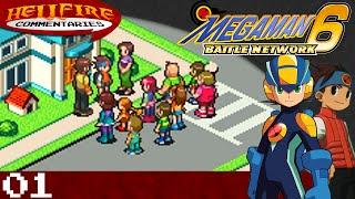 Mega Man Battle Network 6: Cybeast Gregar playthrough [Part 1: Playthrough Routine, Set! EXECUTE!]