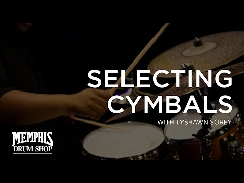 Tyshawn Sorey Talks Selecting Cymbals