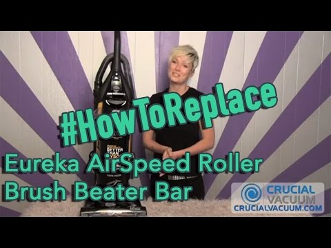 Eureka AirSpeed AS1000 & AS1050A Vacuum Cleaner Roller Brush Beater Bar Replacement: Part # 63391-4