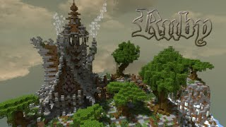 Minecraft building ideas #7: Ruby Medieval/Nordic/Fantasy Style House +Download YouTube