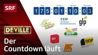 Schlägt jetzt das letzte Stündlein für FDP, GLP, CVP, BDP, SP, Grüne und SVP? | Deville