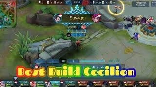 Solo Rank Savage Cecilion Mobile Legends