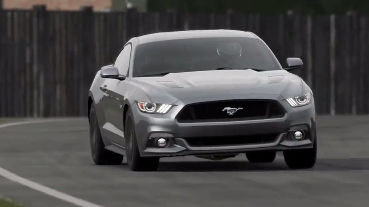 2015 ford mustang top gear track youtube. Black Bedroom Furniture Sets. Home Design Ideas