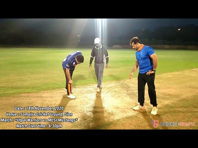 Utpal Warriors vs MLSI Mustangs - cricket match highlight at Somaiya Cricket Ground in mumbai