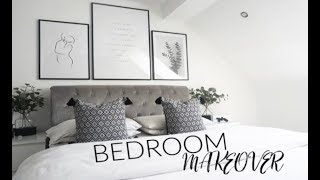 AD | BEDROOM MAKEOVER & ROOM TOUR | SCANDI-CHIC STYLE | Carly Jade Drake