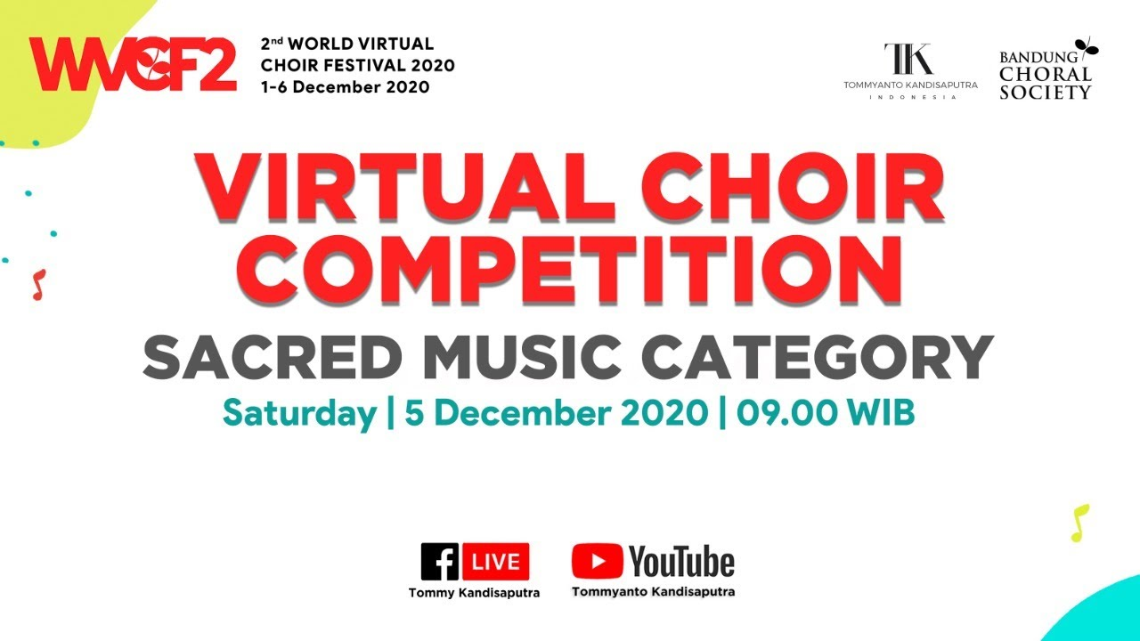 Virtual Choir Competition Sacred Music Category Youtube