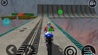 IMPOSSIBLE MOTOR BIKE TRACKS 3D #Dirt Motor Cycle Racer Game #Bike Games To Play