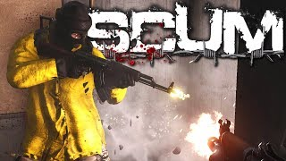 Scum - From New Spawn To Geared PVP At The Airfield!