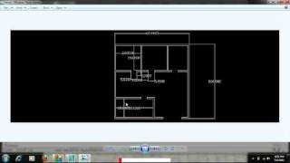 Autocad Tutorial By Engr Ali Haider 2d Map Of House