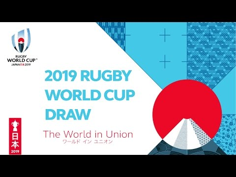 The  Rugby World Cup 2019 Pool Draw